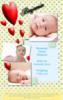 Love Hearts Birth Announcement