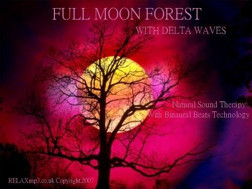 Product picture HALLOWEEN FOREST SOUNDS BINAURAL BEATS MP3 MEDITATION